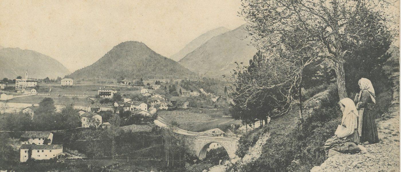Slika mesta Tolmin - SI_PANG/0667 Zbirka razglednic krajev, Tolmin 757, (s.d.)